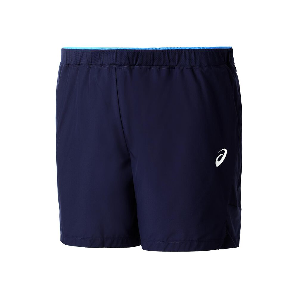 Image of Asics 7in Shorts Herren - Dunkelblau, Weiß