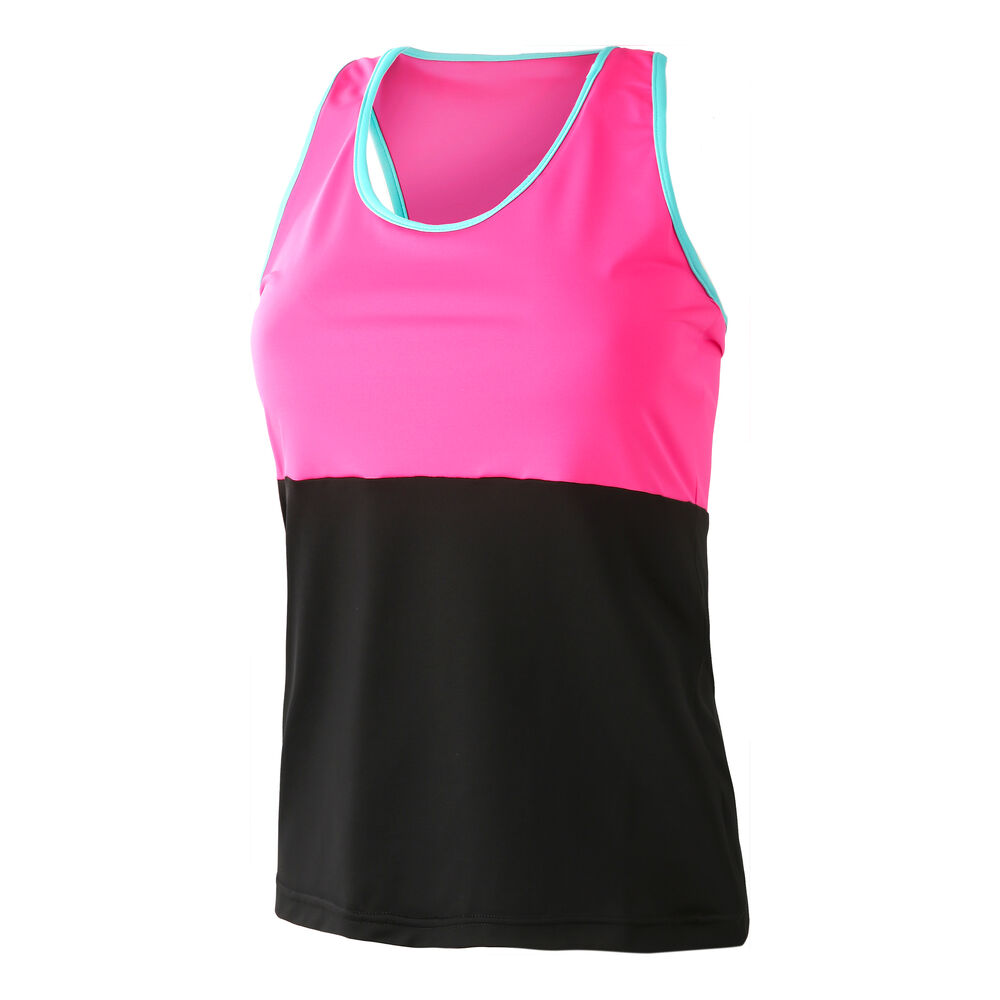 Image of BB by Belen Berbel Barcelona Tank-Top Damen - Schwarz, Pink