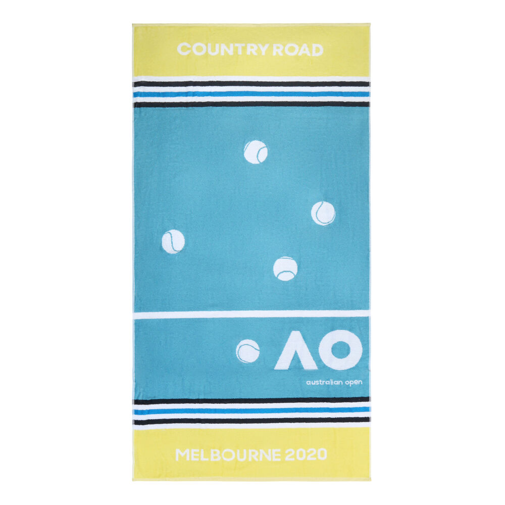 Image of Australian Open AO Country Road Player Handtuch - Hellblau, Gelb