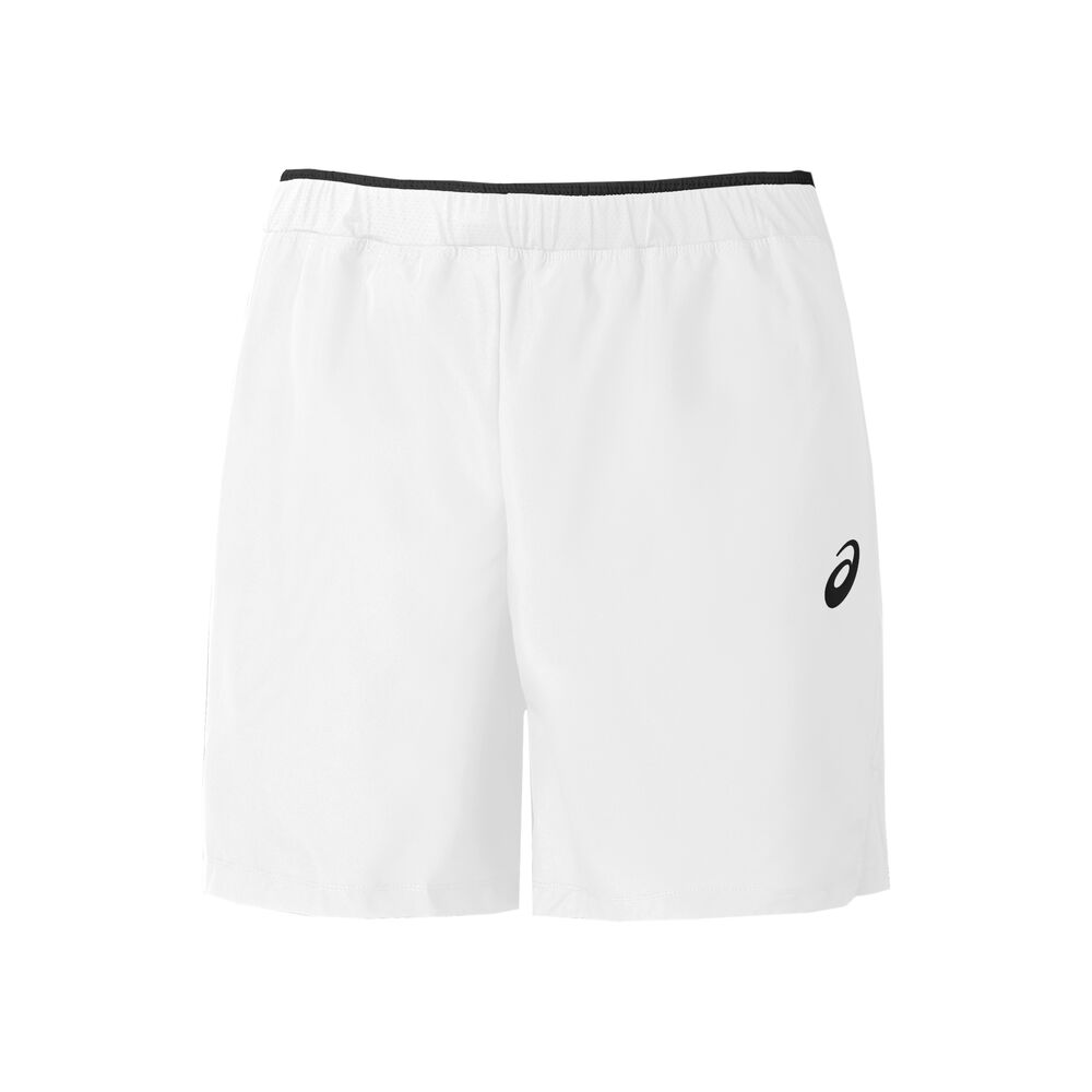Image of Asics 7in Shorts Herren - Weiß, Schwarz