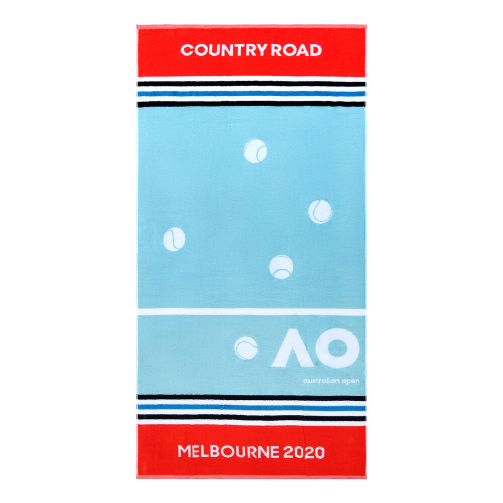 Image of Australian Open AO Country Road Player Handtuch - Hellblau, Rot