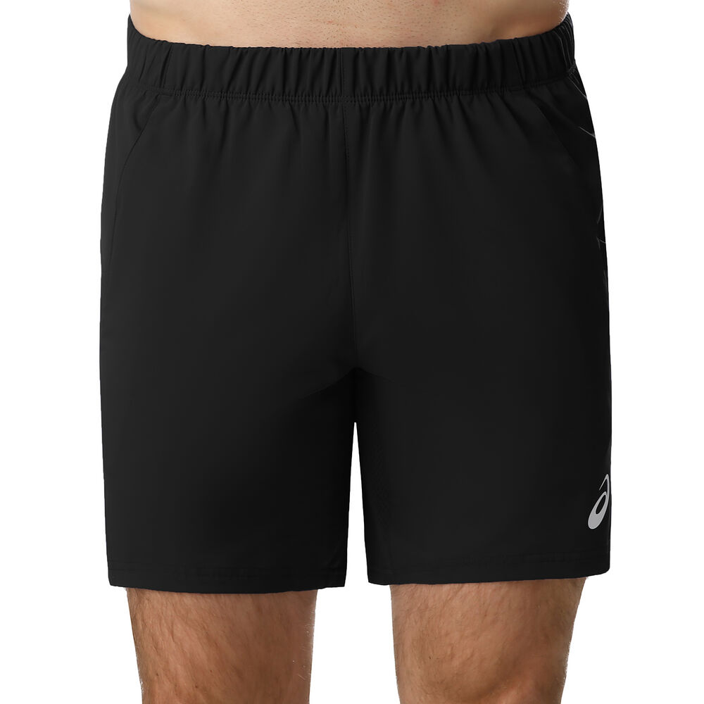 Image of Asics 7in Shorts Herren - Schwarz, Weiß