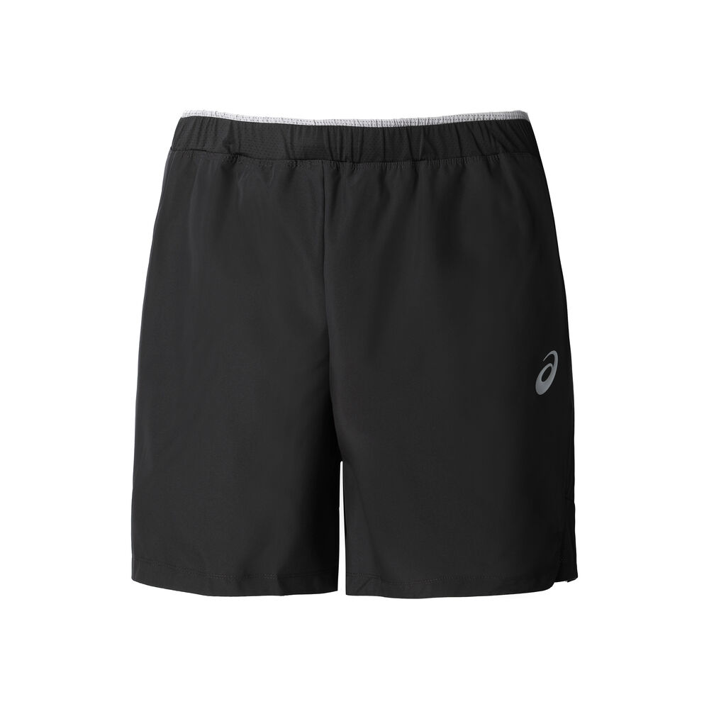 Image of Asics 7in Shorts Herren - Schwarz, Grau
